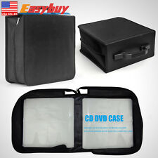 Disc CD DVD Bluray Storage Holder Solution Binder Book Sleeves Carrying Case 400