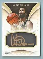 ARTIS GILMORE 2013/14 PANINI IMMACULATE SCORERS CLUB AUTOGRAPH AUTO /60
