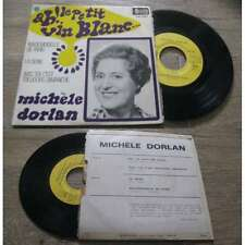 MICHELE DORLAN - Ah Le Petit Vin Blanc French EP Sixties Pop Monde Melody