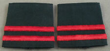 Royal Canadian Army Cadet Captain Slip On Insignia Pair