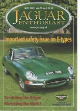 JAGUAR ENTHUSIAST MAGAZINE  MAY 2005 VOL.21 NO.5  REVISITING THE S-TYPE     LS