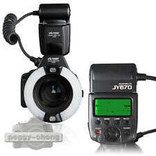 Viltrox JY-670S Macro Ring Lite Speedlite Flash Close UP Light Control for Sony