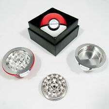 Pokemon Pokeball Grinder in Display Box! 55mm Aluminium Dry Herb Tobacco Grinder