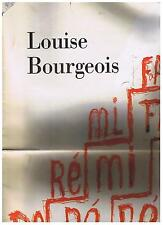 LOUISE BOURGEOIS photographic magazine in folio 7 octobre 2002 ILLY COLLECTION