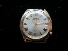 Authentic Vintage Bulova Accutron 10K Rolled Gold Men's Wristwatch