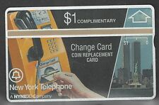 New York Telephone First Complementary Phone Card with Twin Towers