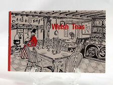 Welsh Teas 1976 Wales Tea House Recipes Scones Sandwiches Biscuits Cake
