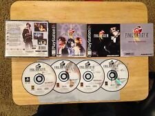 Final Fantasy VIII 8 Black Label Playstation 1 2 PS1 PS2 System Complete Game