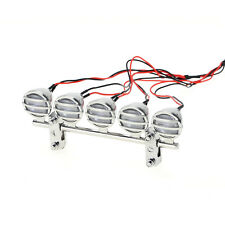 GT Power Bright LED Off Road Chrome Trail Light Bar for 1/10 R/C Monster Trucks