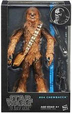 "STAR Wars La Serie Nera # 04 7,5 ""CHEWBACCA Action Figure HASBRO A6520"