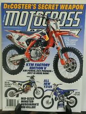 Motocross March 2016 KTM Factory Edition V FREE SHIPPING