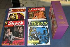 Complete EC Picto-Fiction Illustrated  4 Volume Set w/ Slipcase