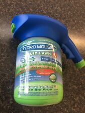 HYDRO MOUSSE LIQUID LAWN SPRAY N STAY TECHNOLOGY FESCUE BLEND .5lb AS SEEN ON TV