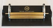 "Read 24 Row Smocking Pleater Machine 9"" Pleating"