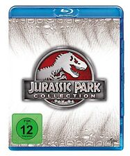 JURASSIC PARK COLLECTION 4 BLU-RAY NEU STEVEN SPIELBERG,JOE JOHNSTON