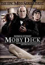Moby Dick (DVD) Epic Mini Series Patrick Stewart Gregory Peck Brand New Sealed