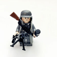 Custom Lego WW2 German Sixth Army Soldier Minifigure Free Shipping SNDE01