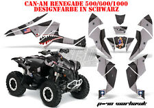 AMR RACING DEKOR KIT ATV CAN-AM RENEGADE, DS250, DS450, DS650 P40-WARHAWK B
