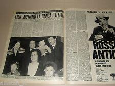 CICCIO INGRASSIA FRANCO FRANCHI clipping ritaglio articolo foto GENTE 1967/14