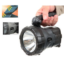 Rechargeable LED Work Light Torch Solar Powered 1W LED Power Spotlight Hand Lamp