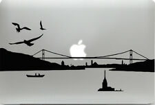 Apple MacBook + ISTANBUL + Aufkleber Sticker Skin Decal + Türkei Skyline