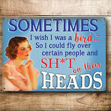 METAL SIGN FUNNY GIFT PRESENT IDEA FOR HER WOMEN MUM BIRTHDAY VALENTINES DAY UK
