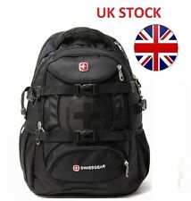 Brand new black stylish wenger swissgear CY-125 sac à dos laptop sac pour ordinateur portable