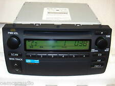 Toyota Corolla OEM AM FM Radio and Single CD Player 86120-02270 2003 2004 2005
