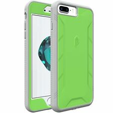 Revolution Premium Rugged Dust Hybrid Green Case Cover for Apple iPhone 7 Plus