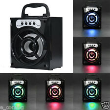 Outdoor Bluetooth Speaker Wireless Portable  Super Bass with USB/TF/AUX/FM Radio