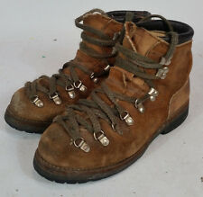 Vintage Hiking Mountaineering Vibram Red Wing Boots Mens 7 M USA Leather Irish