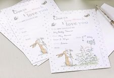 Guess How Much I Love You - Invites & Envelopes x 10 - 1st Birthday/Christening