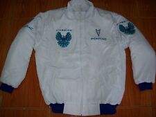 Nuevo Pontiac Firebird fan-chaqueta blanco (azul) Jacket Veste jas giacca Jakka