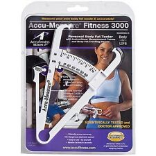 Genuine Accu-Measure Body Fat Caliper- Fitness- Body Building- Gym- Weight Loss