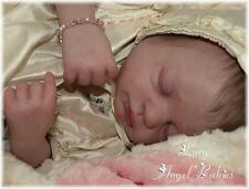 """LUCY REBORN KIT ~ Peach Color Vinyl Doll Kit, by Marissa May 20 """" Baby Sweetie"""