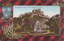 Fraser Tartan Surround, The Castle & Ross Fountain, EDINBURGH, Midlothian
