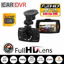 "1080P 2.3"" LCD Car Camera Full HD Dash Cam Crash DVR G-sensor Night Vision BY"