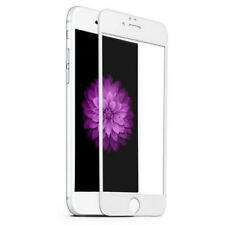 WHITE 3D Curved Full Cover Tempered Glass Screen Protector For iPhone 6+/6s Plus