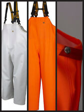 Guy cotten imperméable léger hitra bib & brace en orange ou blanc.