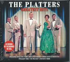The Platters - Greatest Hits...Best Of...40 Original Recordings (2CD) NEW/SEALED