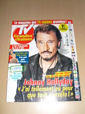 JOHNNY HALLYDAY TV Grandes chaines N°240 juin 2013