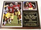 Colin Kaepernik San Francisco 49ers Super Bowl Champions Photo Card Plaque