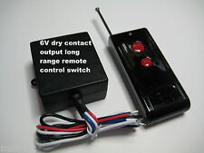 MSD 6V Dry Contact 0v out Long Range on-off remote control relay switch RS608P