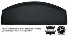 WHITE STITCHING REAR PARCEL SHELF LEATHER COVER FITS VW BEETLE 1998-2011