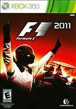 F1 2011 Microsoft Xbox 360 Formula One Racing NEW Video Game FREE SHIPPING
