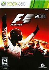 F1 2011 for Microsoft Xbox 360 2011 Formula One Racing Game NEW