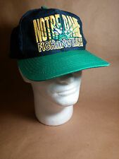 "Officially Licensed Notre Dame Fighting Irish Snapback Cap Hat ""Signature"""