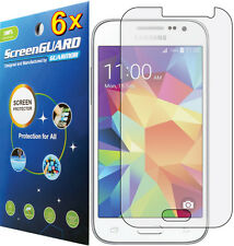 6x Clear Screen Protector Samsung Galaxy Core Prime SM-G3606 G360V G360T S820C