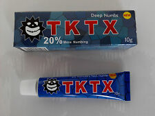 New Tattoo TKTX 20% More Numbing Cream Piercing Makeup Eyebrow Embroidered