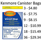 Kenmore Type C 5055, 50557 and 50558 Canister Vacuum Cleaner Bags By EnviroCare